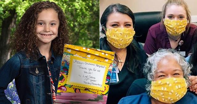 Девочка, которая шила маски для больниц, погибла в результате несчастного случая