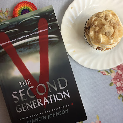 V The Second Generation Book Review Sci Fi book reading challenge