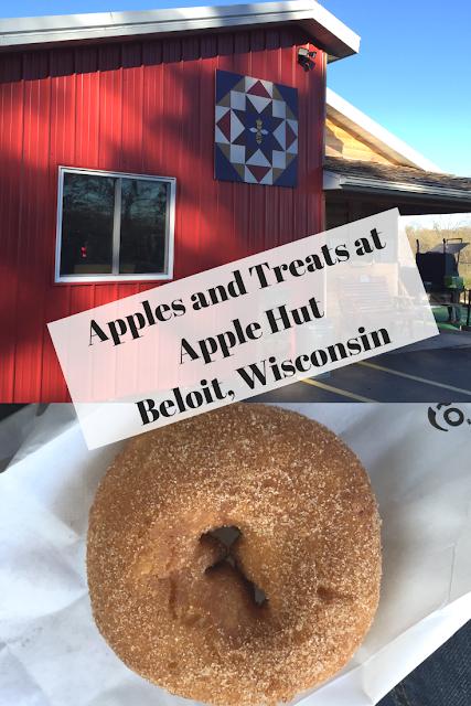 Apples and Treats at Apple Hut Beloit, Wisconsin