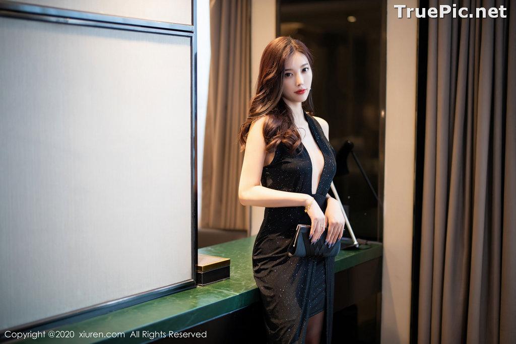 Image XIUREN No.2616 - Chinese Model - Yang Chen Chen (杨晨晨sugar) - Sexy Dark Lady - TruePic.net - Picture-2