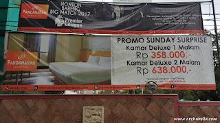 Promo room di Hotel Pandanaran Semarang. (dok:pri)