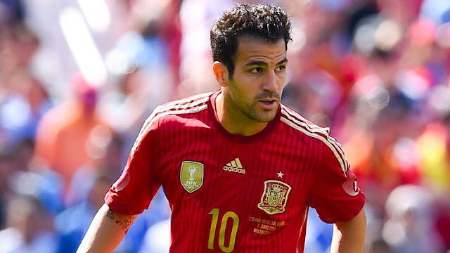 Fabregas, milieu de la Roja et de Chelsea, l'un des meilleurs milieux au monde