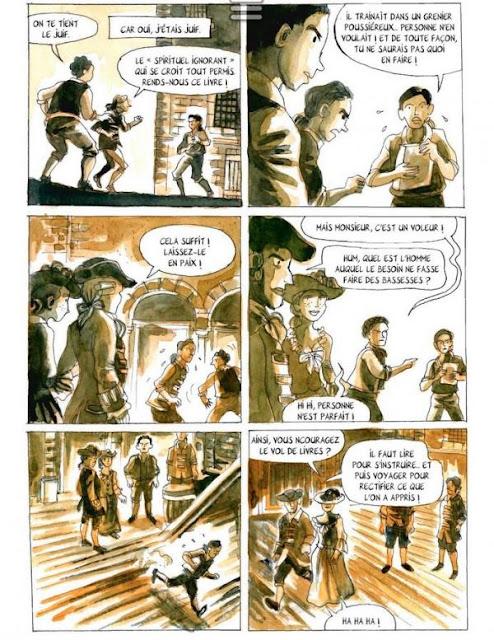 """page de """"Dans l'ombre de Don giovanni"""" de Clément Baloup et Eddy Vaccaro paru chez la boîte à bulles"""