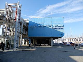 ジェノヴァ水族館入口