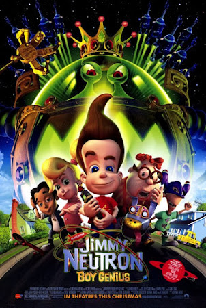 Poster Of Jimmy Neutron: Boy Genius In Dual Audio Hindi English 300MB Compressed Small Size Pc Movie Free Download Only At worldfree4u.com