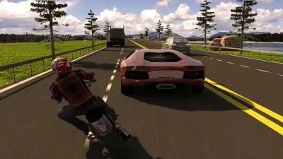 تحميل لعبة traffic rider مهكرة