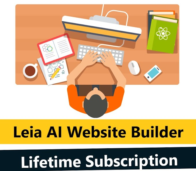 $69.99 Leia AI Website Builder Lifetime Subscription