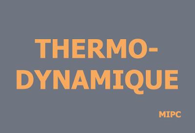 thermodynamique mipc