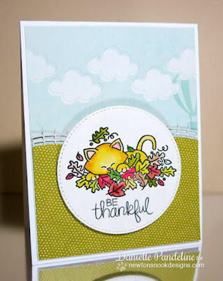 Hello Fall | STAMPtember Exclusive Simon Says Stamp & Newtons Nook Designs |  Created by Danielle Pandeline