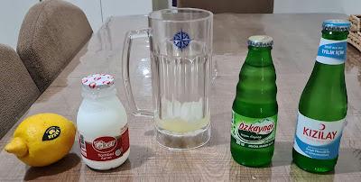 Soda Ayran Limon İçeceği Kürü Nasıl Hazırlanır