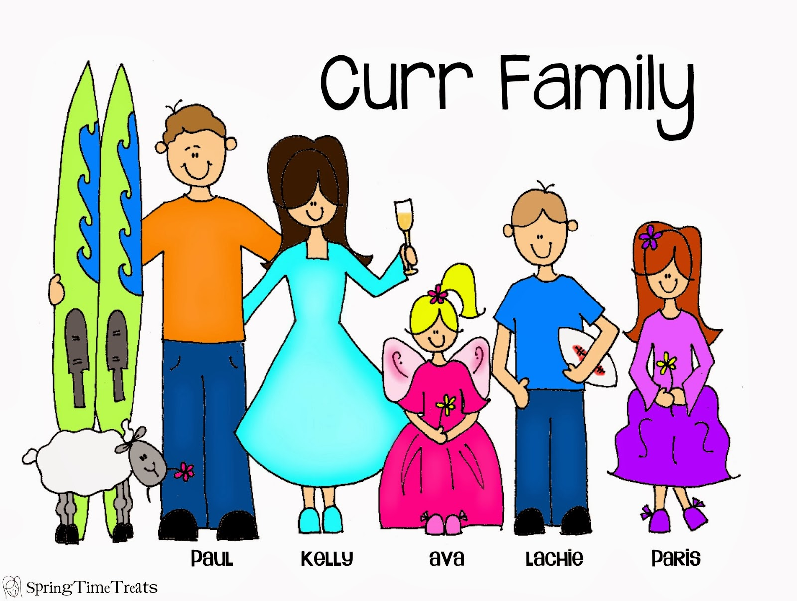 Cute Drawings For Mom And Dad