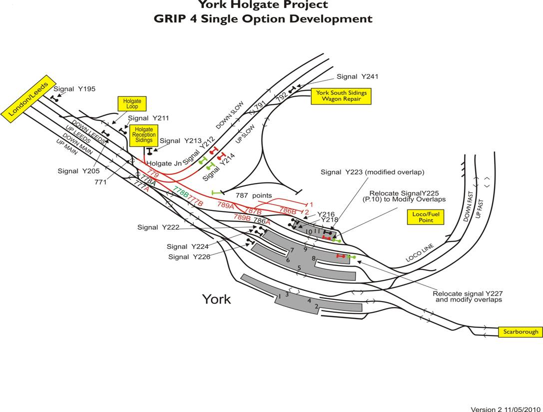 Focus Transport New Junction Relieves York Bottleneck