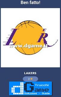 Soluzioni NBA Team Quiz livello 4