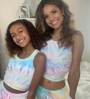 Isabella Amora Watson with her celebrity mother Jennifer Freeman