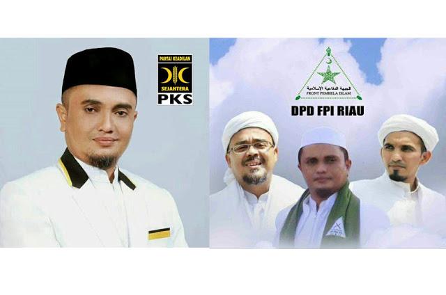 Ketua FPI Riau Bergabung dengan PKS
