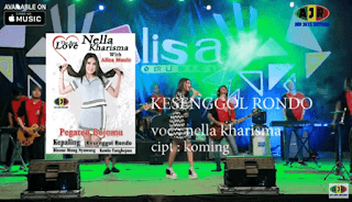 Lirik Lagu Kesenggol Rondo - Nella Kharisma