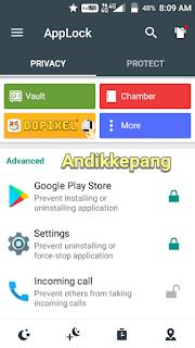cara mudah menyembunyikan applock domobile dari homescreen