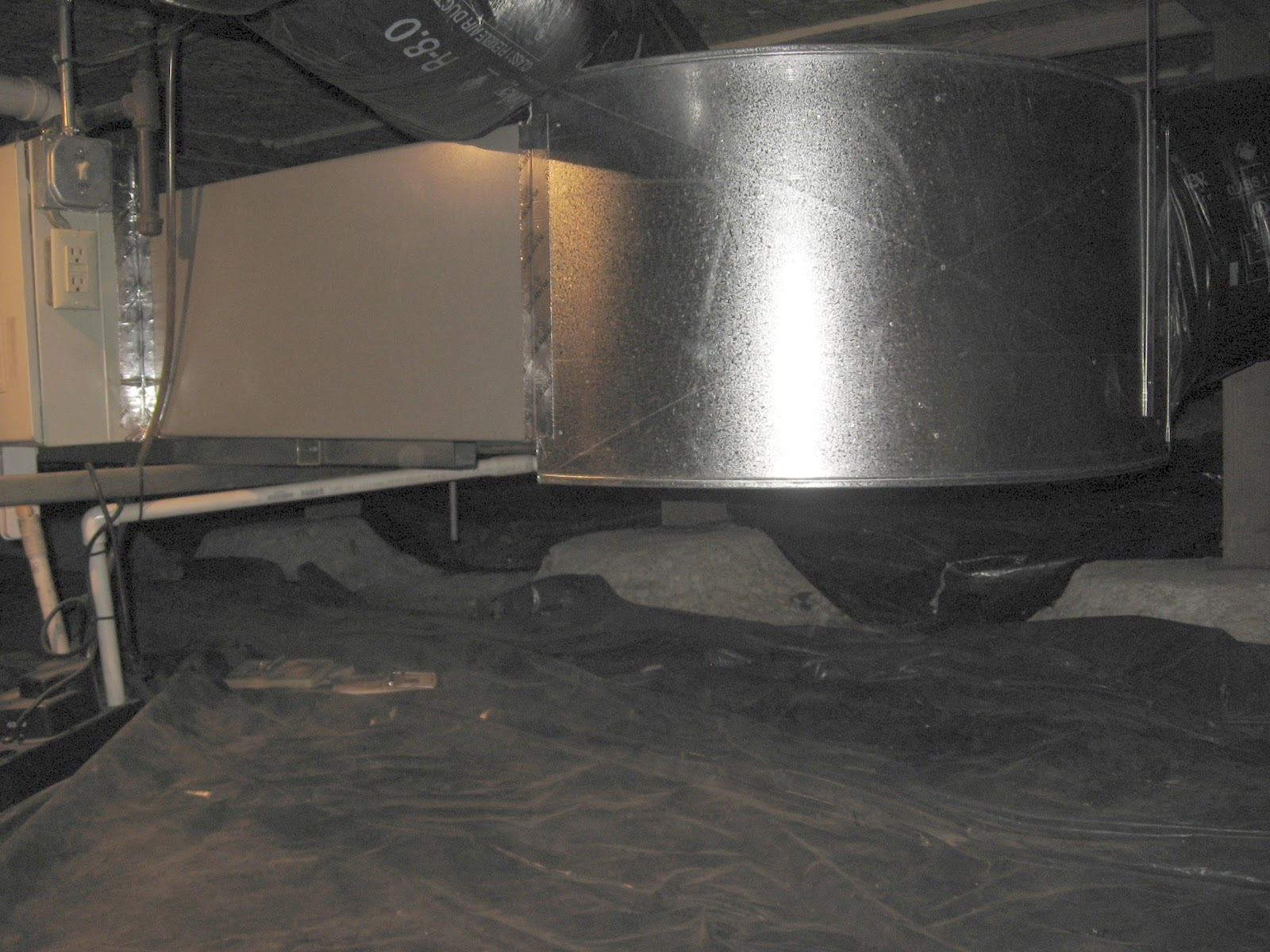 Energy Conservation How To Where Failed Flex Ducts In A