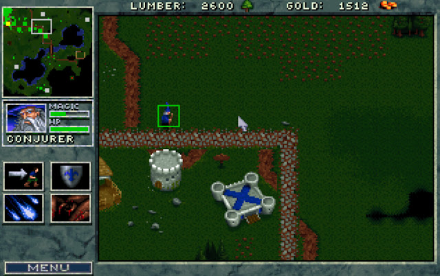 Warcraft 1 Conjurer Screenshot