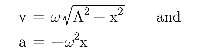 Formulas Derivations
