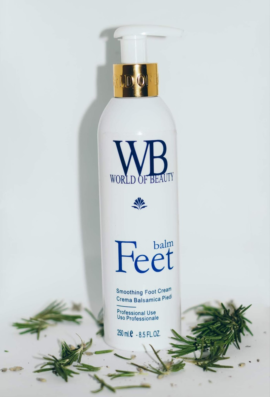 world of beauty feet cream