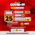 Jaguarari registra 20 novos casos de coronavírus no Boletim desta terça-feira (08)