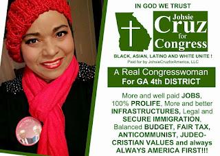 Entrevista a la candidata al Congreso USA por Georgia Johsie Cruz. Geopolítica en Radio Esperantia