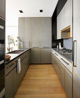 Contoh Desain Dapur Minimalis Modern 3x3