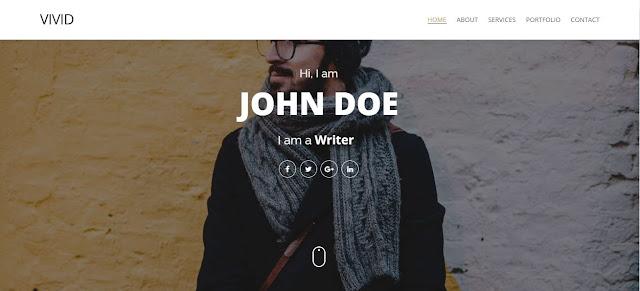 Vivid Blogger Template