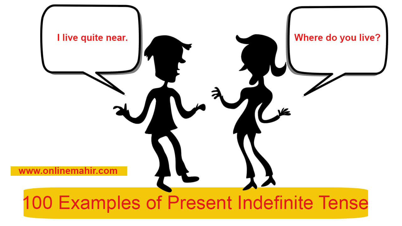 examples of present indefinite tense image