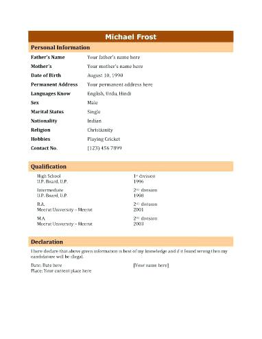 Format My Resume For Me 2019 - Resume Templates