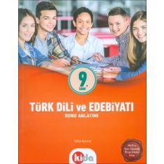 Kida Eğitim 9.Sınıf Türk Dili ve Edebiyatı Konu Anlatımı (2017)
