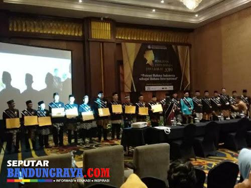 Pemenang Duta Bahasa Jawa Barat 2019