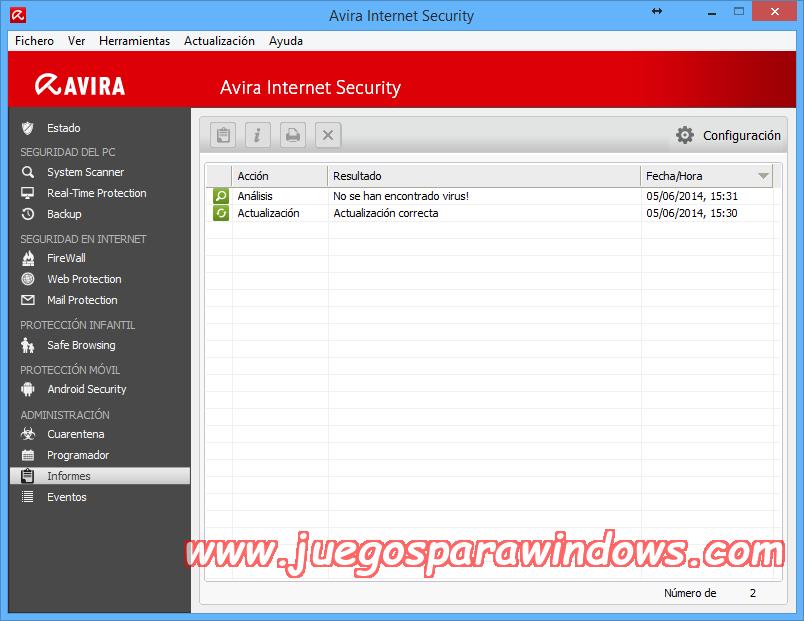 Avira Internet Security v14.0.4.642 Full PC ESPAÑOL 11