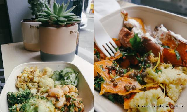 industry salad counter, deli dublin, drury street