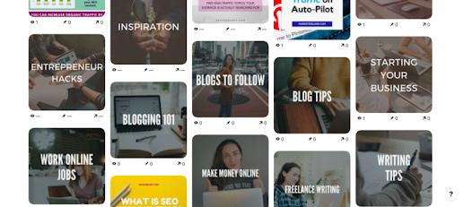 Tối ưu tiêu đề bảng sẽ được Pinterest ưu tiên hiển thị trên bảng tin