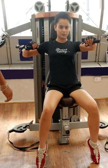 kangana ranaut workout and diet
