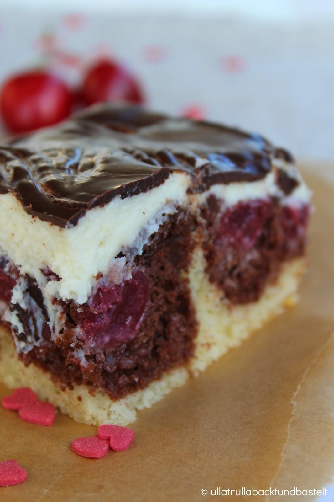 Ullatrulla Backt Und Bastelt Kuchen Wie Von Oma Rezept Fur Donauwelle