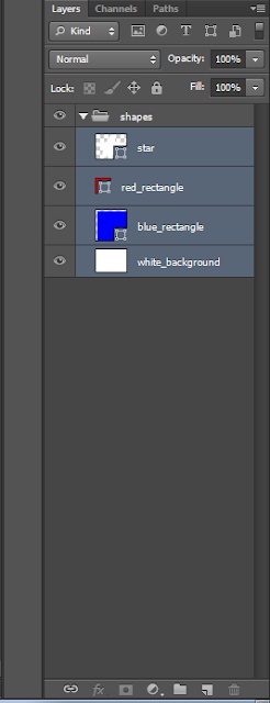 placing layers into a group