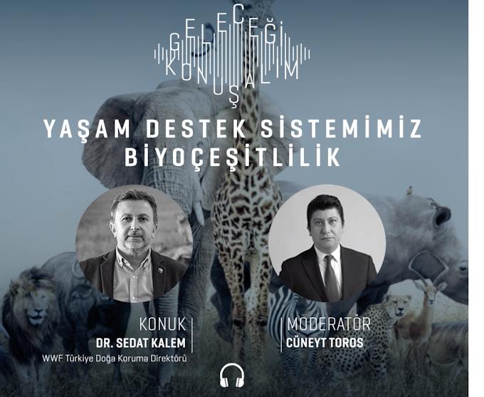Geleceği Konuşalım Podcast. Dr.Sedat Kalem/WWF Türkiye