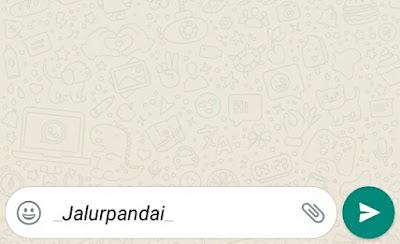 rahasia yang terdapat pada whatsapp 3