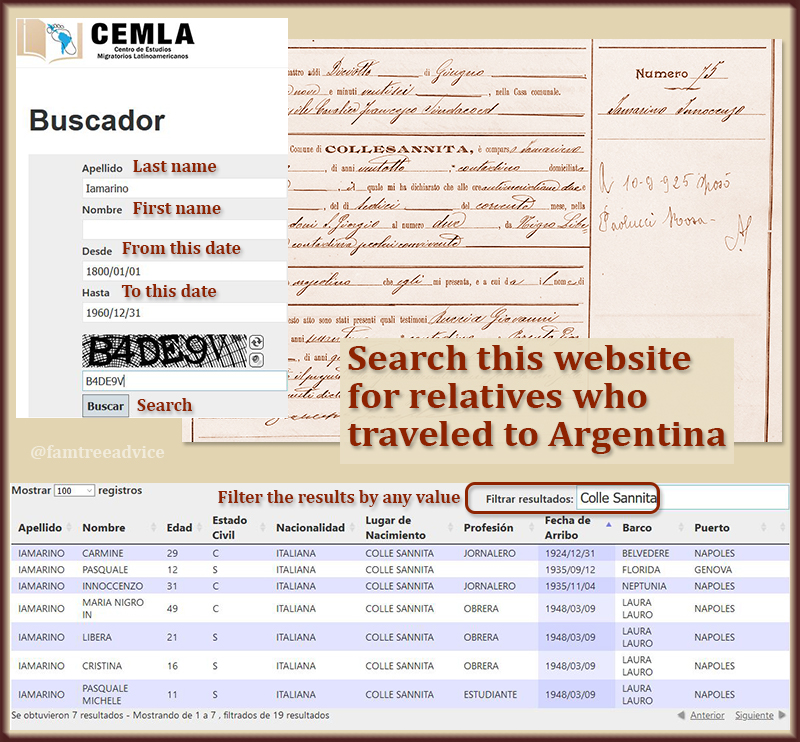 This simple search form can turn up a list of possible relatives for you.