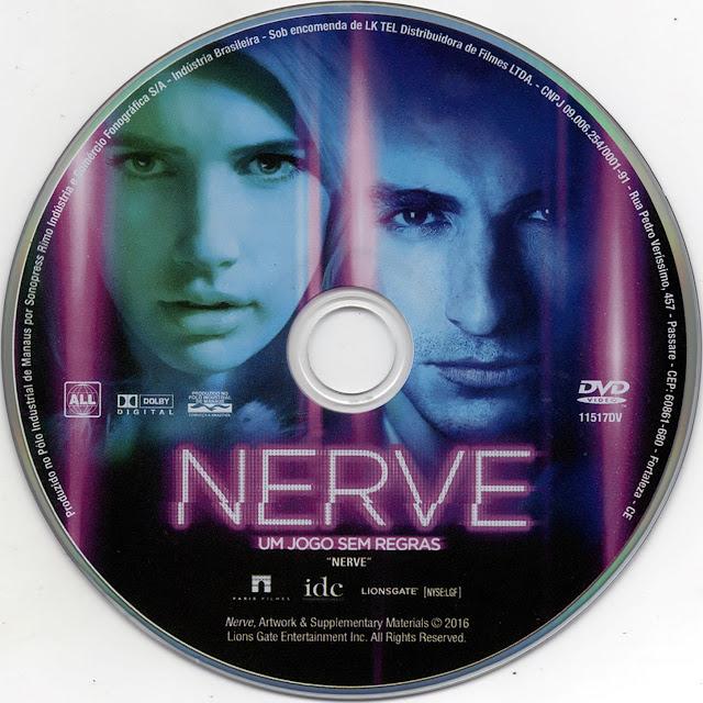Label DVD Nerve Um Jogo Sem Regras