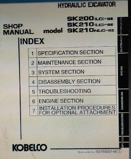 Service manual Kobelco SK200lc-6E, Sk210lc-6E