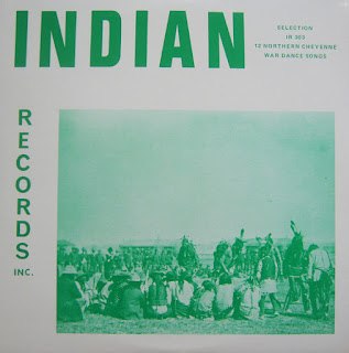 12 Northern Cheyenne War Dance Songs, Indian Records