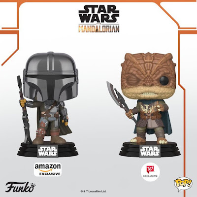 The Mandalorian Pop! Star Wars Series 2 Vinyl Figures by Funko