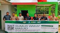 Global Wakaf - ACT  Resmikan Sumur Wakaf di Masjid Baiturrahman Sarah Teubee