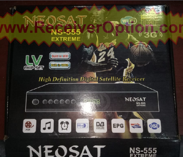 NEOSAT NS-555 EXTREME HD RECEIVER ORIGINAL SOFTWARE