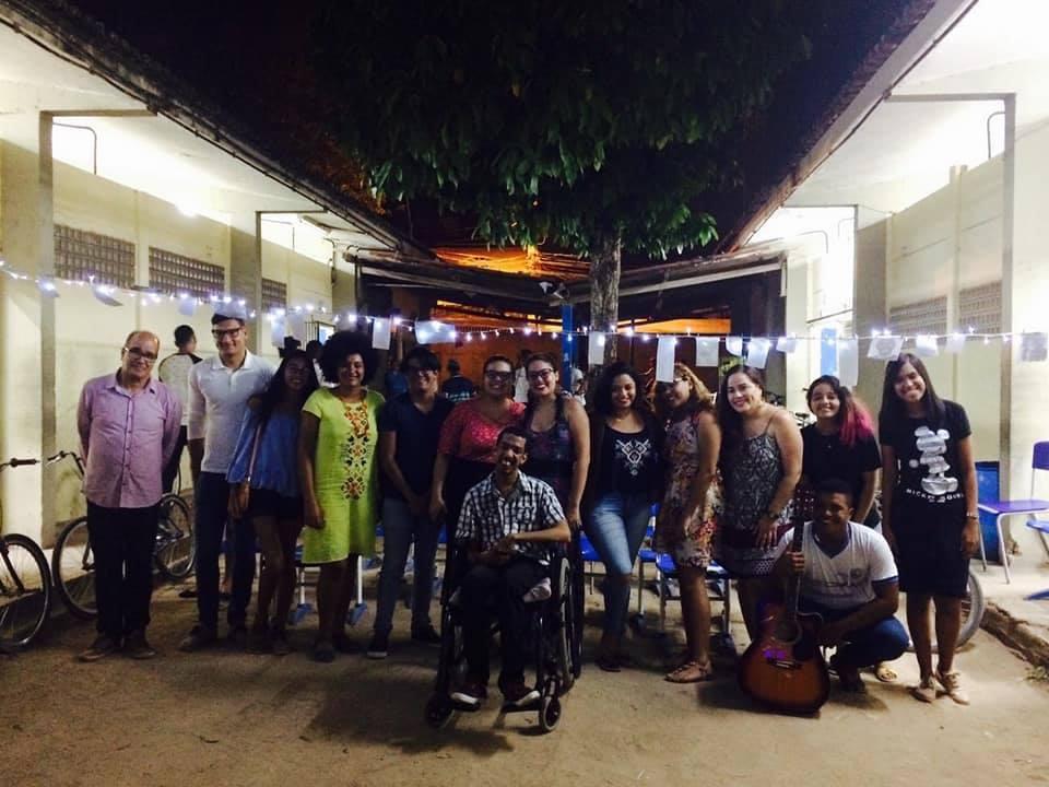 Sarau CONSCIÊNCIA NEGRA, na Escola Alzira 24/11/2017
