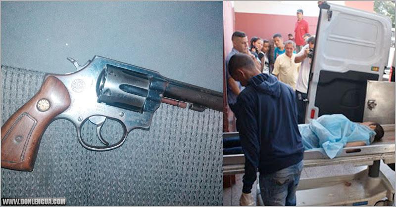 Niño mató de un tiro en la cabeza a su padre en Chacao por decirle que tenía que ser un hombre